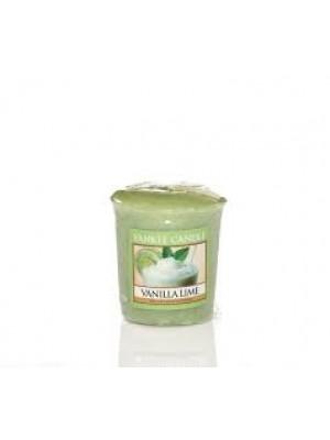 Candela Votiva Vanilla Lime - Yankee Candle