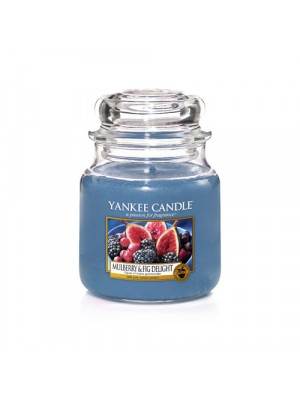 Candela Giara media Mulberry & Fig Delight - Yankee Candle