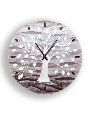 orologio albero della vita 40cm x 40cm - Cartapietra