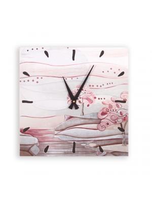 orologio albero dei sogni 40cm x 40cm - Cartapietra