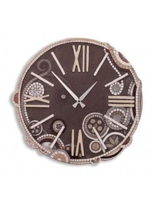 orologio eclettica 48cm x 48cm - Cartapietra