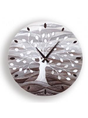 orologio albero della vita 50cm x 50cm - Cartapietra