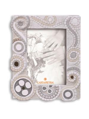 portafoto eclettica 13cm x 18cm - Cartapietra