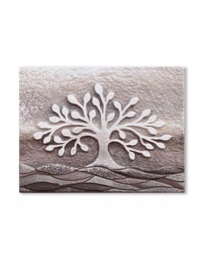 quadretto albero della vita 18cm x 14cm - Cartapietra