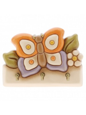 Appendichiavi farfalla 3 ganci -Thun