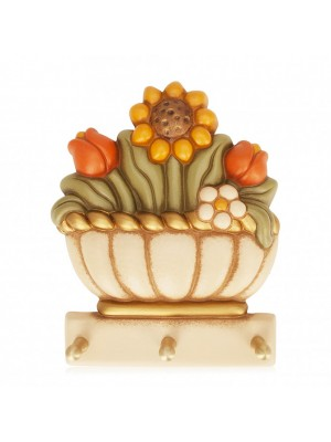 Portastrofinacci cesto di fiori - THun