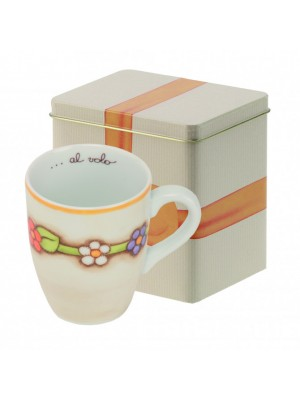 Mug con scatola in latta country - Thun