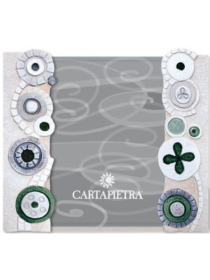 portafoto eclettica 13 x 18 verde - Cartapietra