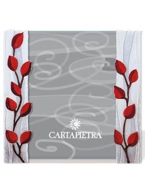 portafoto albero della vita 18 x 24 rosso - Cartapietra