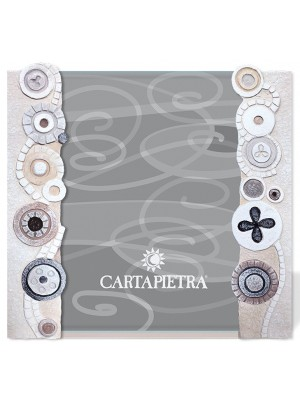 portafoto eclettica 18 x 24 bianco - Cartapietra