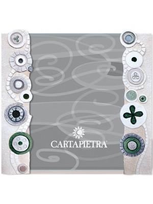portafoto eclettica 18 x 24 verde - Cartapietra