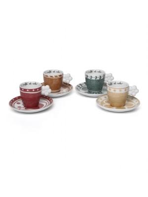 Confezione 4 Tazzine Espresso Orianne - Thun
