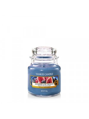 Candela Giara piccola Mulberry & Fig Delight - Yankee Candle