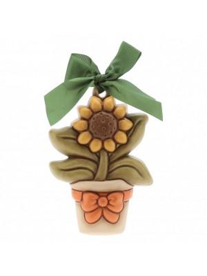 Formella media vasetto fiori -Thun