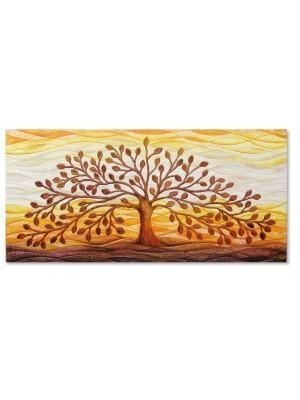 quadro albero della vita 150cm x 70cm - Cartapietra