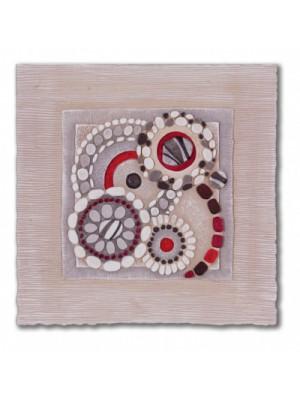 quadretto dolce risveglio 40cm x 40cm - Cartapietra