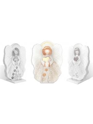 angeli angioletto dell'amore 25cm x 18cm - Cartapietra