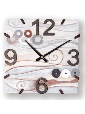 orologio mare 27cm x 27cm - Cartapietra