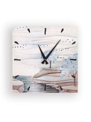 orologio albero dei sogni 40 x 40 carta da zucchero - Cartapietra
