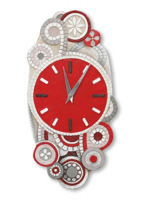 orologio eclettica 22cm x 45cm - Cartapietra