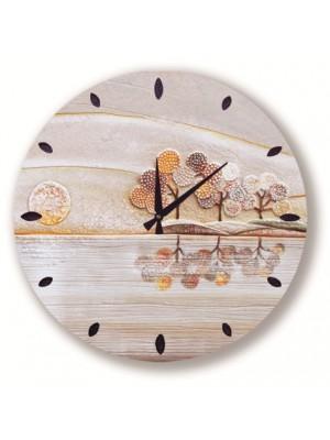 orologio posto tranquillo 50 x 50 oro - Cartapietra