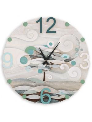 orologio scompiglio 60cm x 60cm - Cartapietra