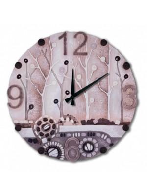 orologio dolce risveglio 60cm x 60cm - Cartapietra