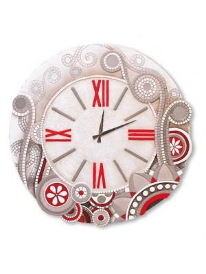 orologio eclettica 70cm x 70cm - Cartapietra