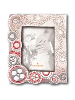 portafoto eclettica 18cm x 24cm - Cartapietra