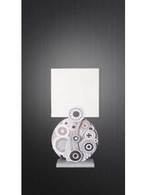 lampada eclettica 18cm x 36cm - Cartapietra
