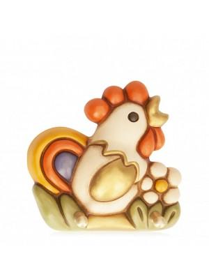 Portastrofinacci gallo con fiore - Thun