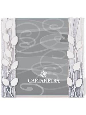portafoto albero della vita 18 x 24 bianco - Cartapietra