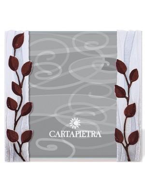portafoto albero della vita 18 x 24 cioccolato - Cartapietra